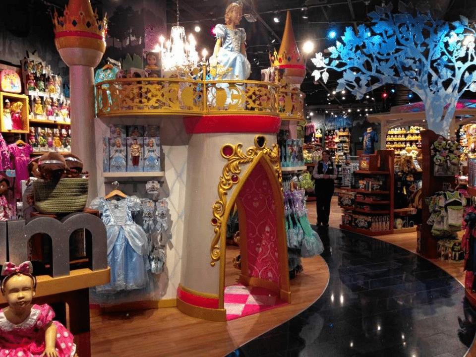 Lo store multisensoriale: il retailtainment per Disney