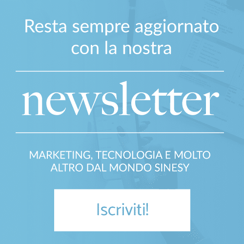 Iscriviti alla nostra newsletter di Marketing Technology